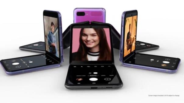Video promocional del Galaxy Z Flip.
