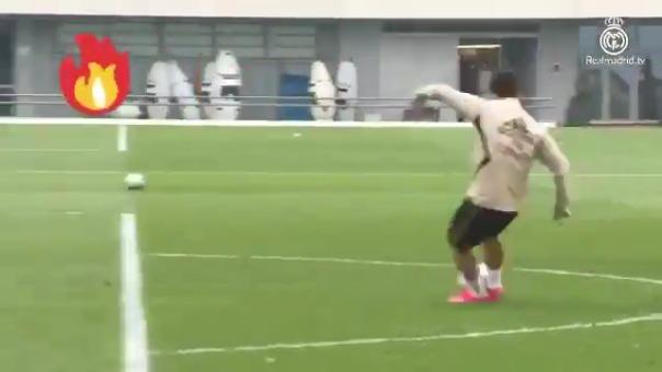 El golazo de Eden Hazard.