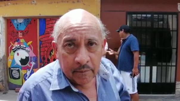 Aldo Miranda, gerente de Seguridad Ciudadana de Lurín, cuestionó a los Bomberos.