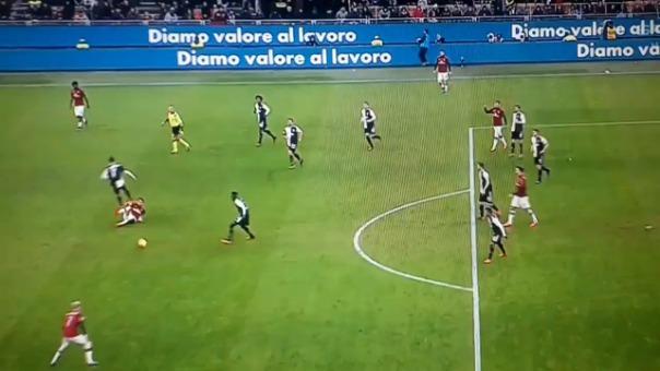 Así fue el gol de Ante Rebic a la Juventus.