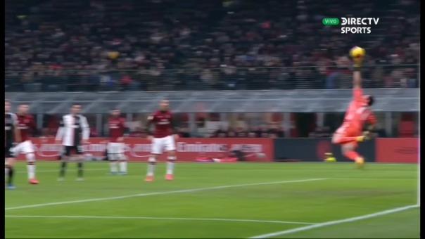 Juventus vs. Milan se enfrentan en San Siro por el partido de ida de semifinales de la Copa Italia.