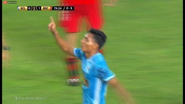 Así fue el gol de Kevin Sandoval.