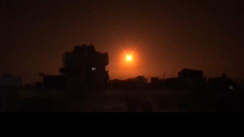 Ataque israelí sobre Siria