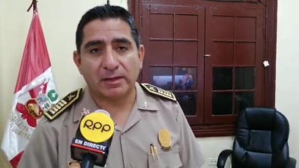 El comisario Jhon Alfaro Bonilla aseguró que la rápida reacción de la Policía evitó una tragedia mayor.