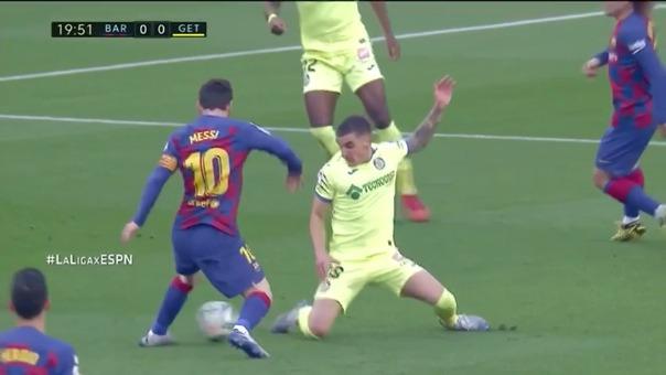 Barcelona derrotó por 2-1 a Getafe en el Camp Nou por la fecha 24 de La Liga.