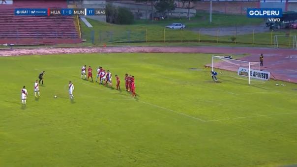 Así fue el golazo de Rodrigo Vilca contra Sport Huancayo.