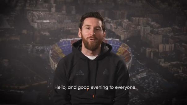 Este fue el mensaje de Lionel Messi tras confirmarse su triunfo en el Premio Laureus.