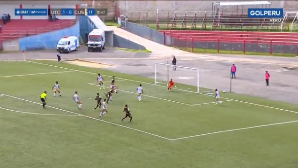 Así fue el gol de Mauro Guevgeozián frente a Cusco FC.
