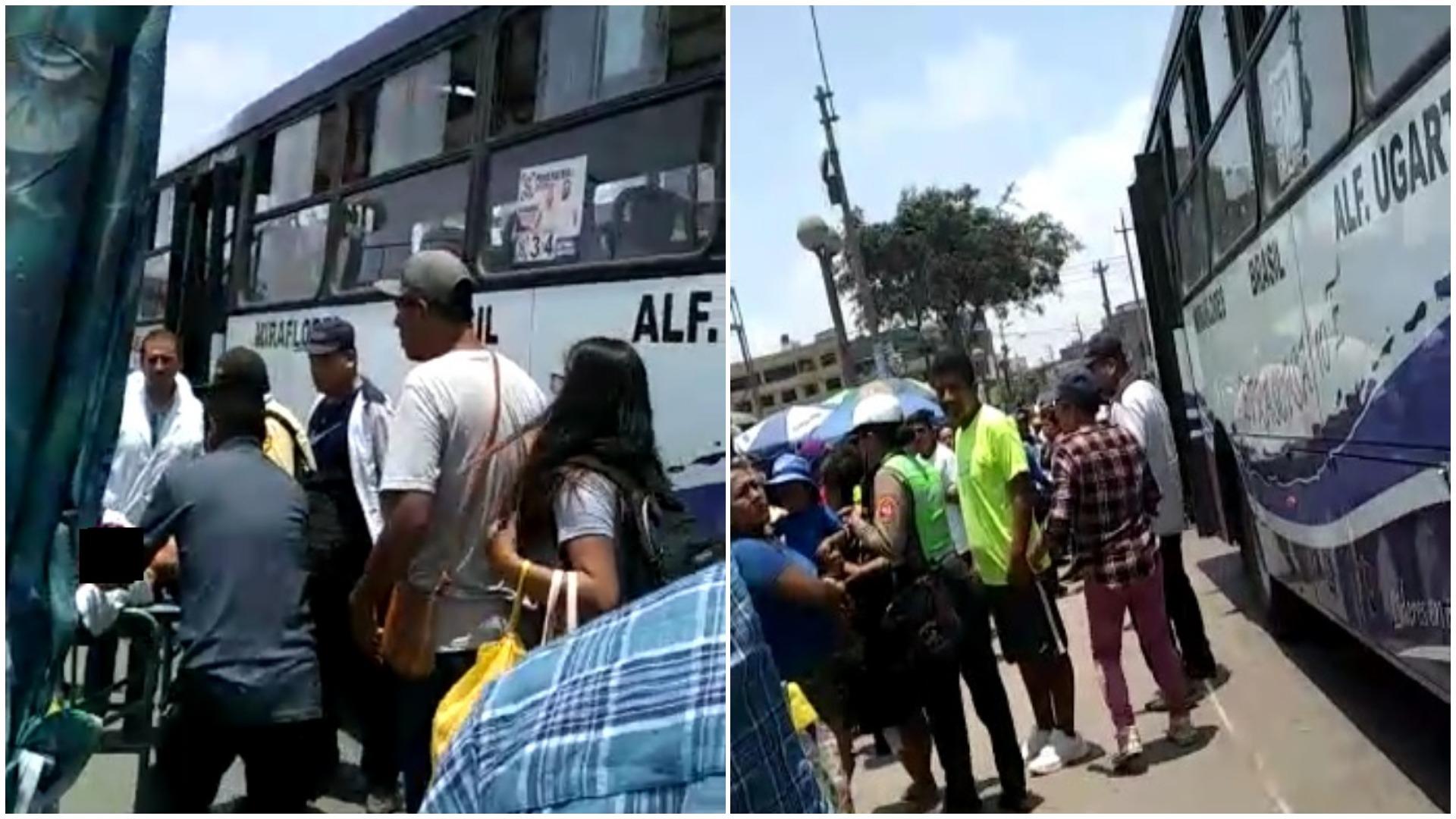 Asalto en San Juan de Miraflores