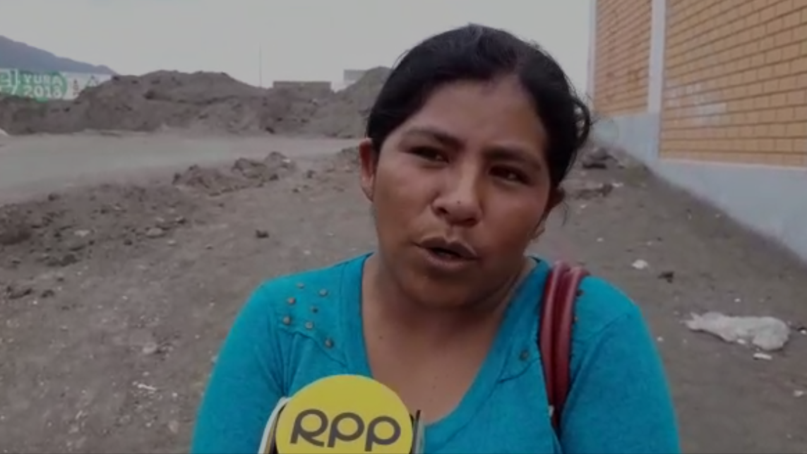 Elena Viza pide justicia en su caso.
