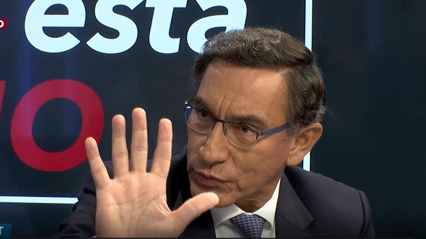 Martín Vizcarra estuvo en el programa Nada está dicho de RPP Noticias.