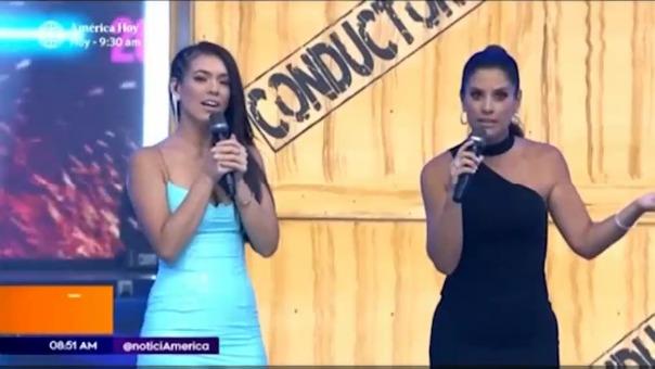 María Pía Copello y Jazmín Pinedo se refirieron al posible cuarto conductor de