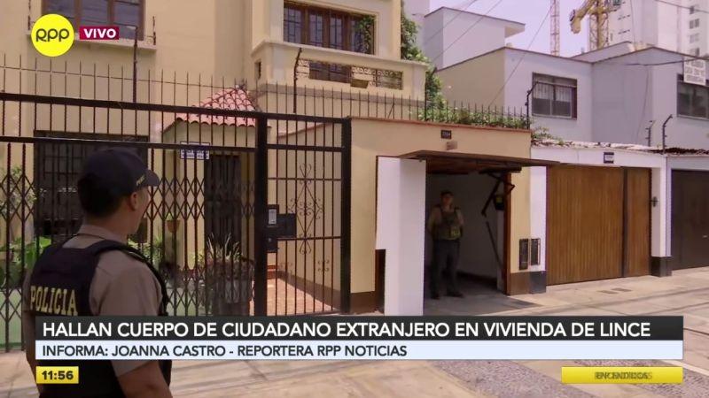 El crimen ocurrió en un centro médico, a pocos metros del Touring Automóvil Club del Perú.