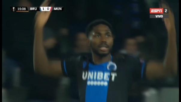 Así fue el gol de Emmanuel Dennis.