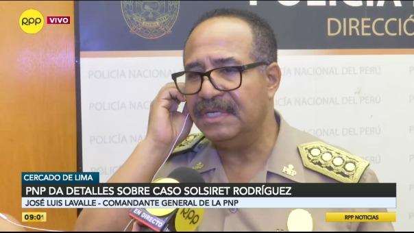 Policía da detalles sobre el caso Solsiret Rodríguez.