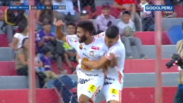 Así fue el gol de Leandro Sosa contra Alianza Lima.