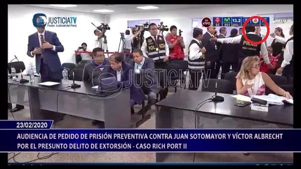 Poder Judicial dictó 36 meses de prisión preventiva.