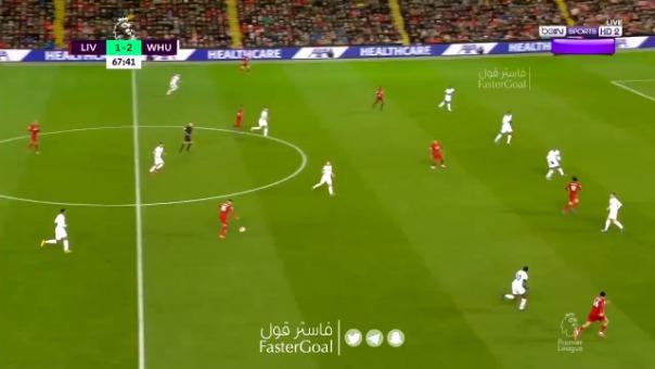 Así fue el golazo de Mohamed Salah al West Ham