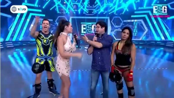 Jazmín Pinedo y Gian Piero Díaz protagonizaron un tenso momento en
