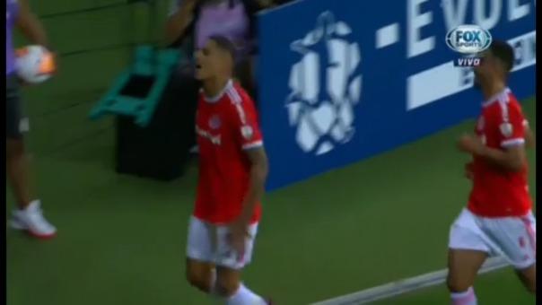 Así fue el gol de Paolo Guerrero.