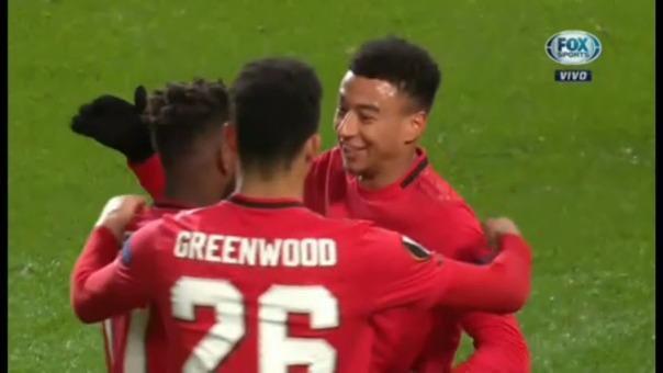 Así fueron los dos goles de Fred.