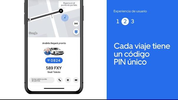Video que explica el uso del código PIN para la verificación de viajes.