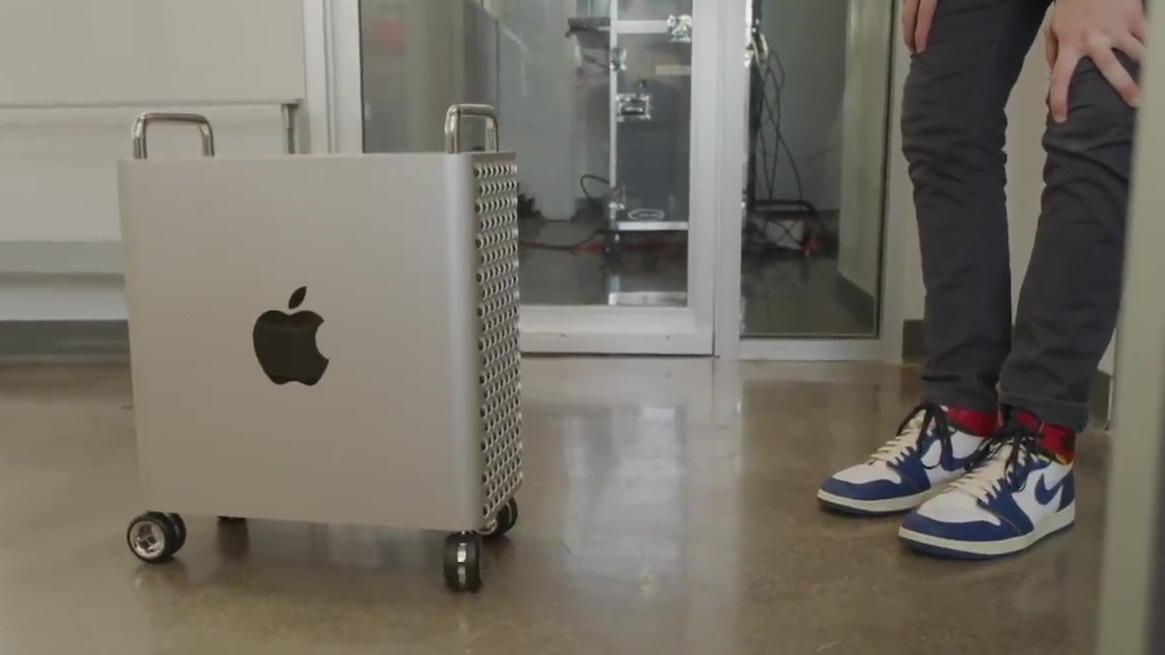 La Mac Pro puede estar en peligro debido a las ruedas.