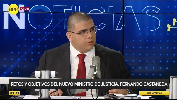 Ministro de Justicia comentó los retos de su gestión.