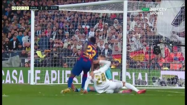 Gol de Mariano Díaz, quien estuvo 40 segundos en la cancha