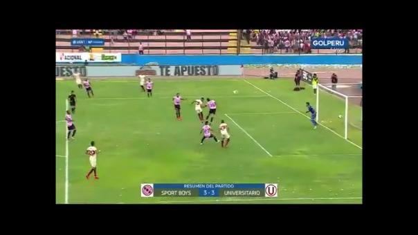 Sport Boys igualó 3-3 con Universitario en el Callo por la Liga 1 Movistar