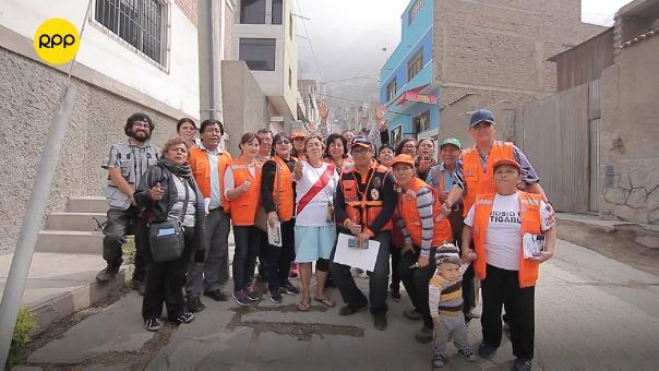 Eva Luz Dávalos cuenta cómo se unió la comunidad para buscar un mejor futuro.