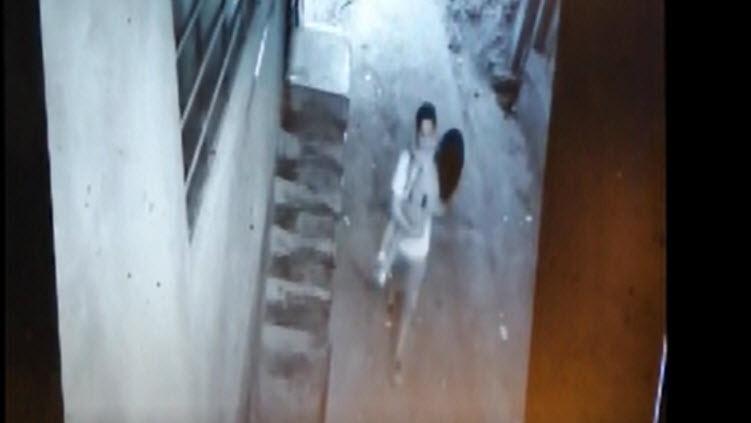 El video que muestra el momento en el que el hombre se lleva a la niña.