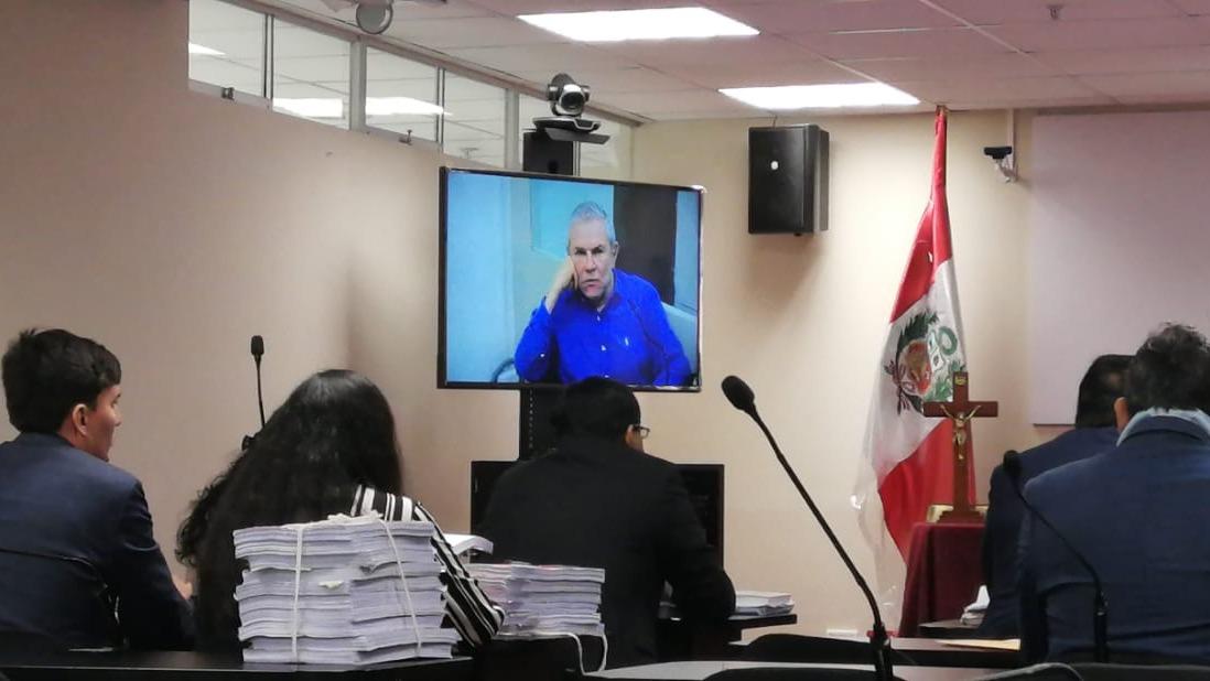 Luis Castañeda cumple una orden de prisión preventiva.