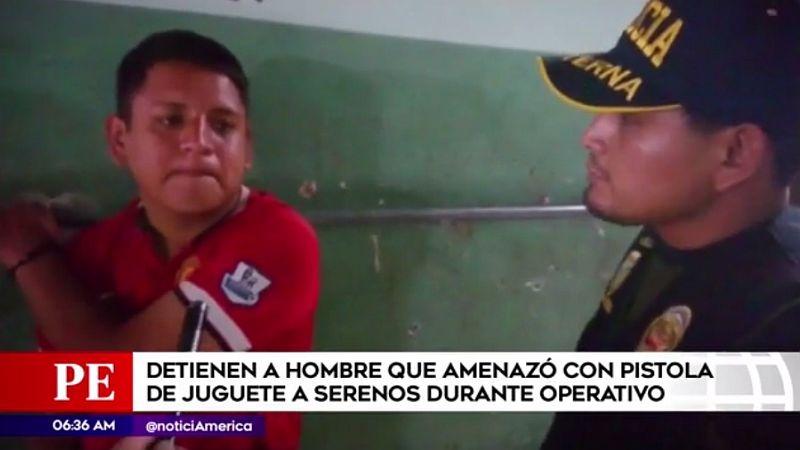 Eddy Paulino Céspedes dijo que un ciudadano venezolano le proporcionó el arma.