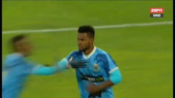 Así fue el gol de Aldair Rodríguez.