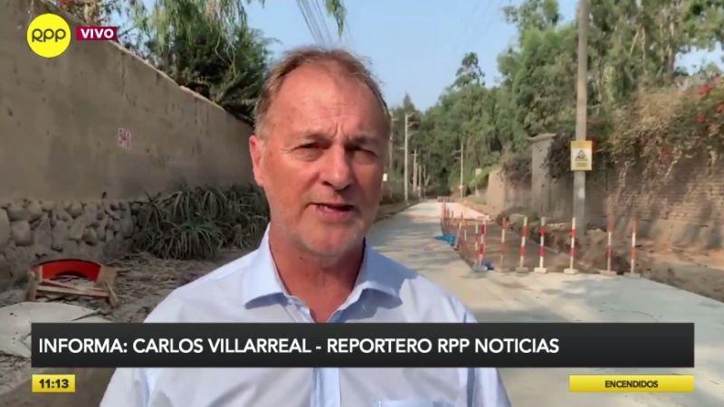 Jorge Muñoz también comentó el accidente que sufrió un ciclista en la Costa Verde.