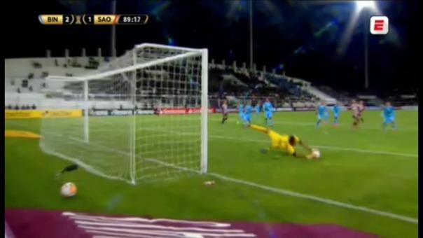 Binacional venció 2-1 a Sao Paulo por la Copa Libertadores.