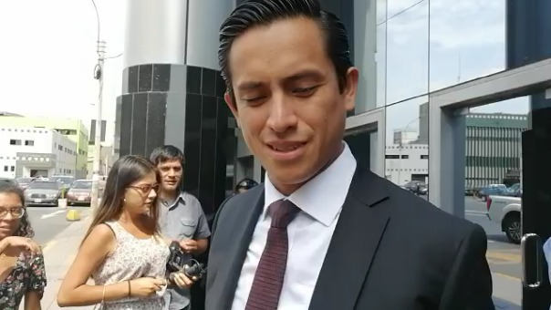 Jefferson Moreno, abogado de Nadine Heredia, cuestiona que la Fiscalía no le permita participar en el interrogatorio de Jorge Barata en Brasil.