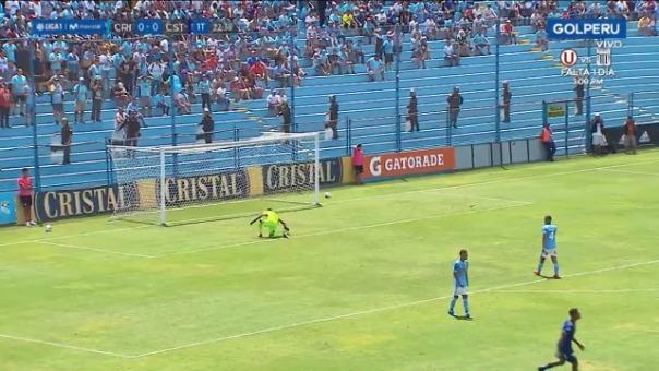 Gol de Carlos Stein ante Sporting Cristal.