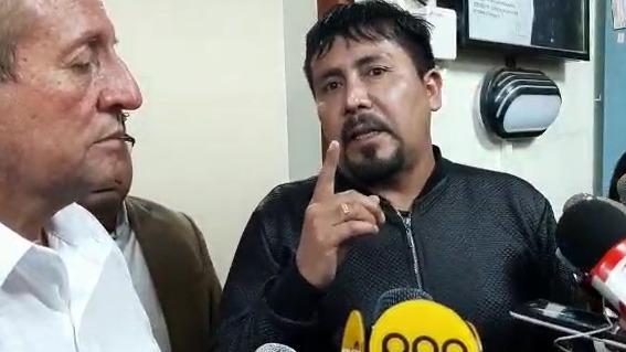 El gobernador pidió calma a la ciudadanía ante el caso de COVID-19 en Arequipa.