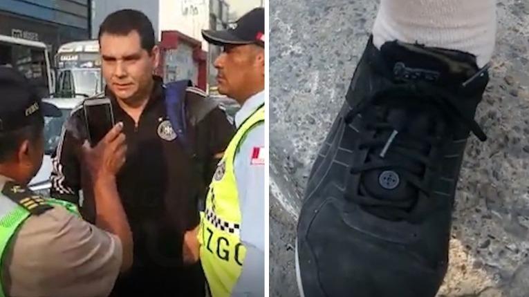 La detención se realizó frente a la Universidad de Lima.