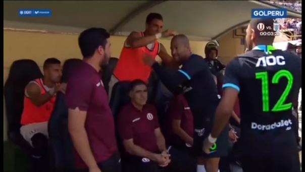 Alberto Rodríguez se acercó a saludar a sus excompañeros