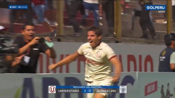 Universitario venció 2-0 a Alianza Lima