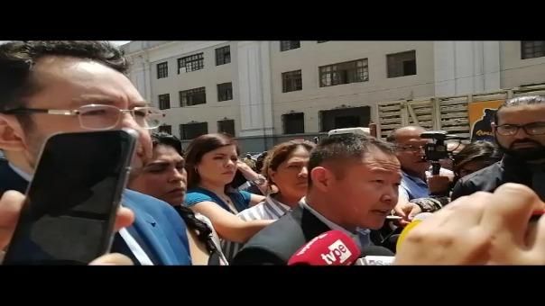 Kenji Fujimori reapareció en la audiencia de control de acusación.
