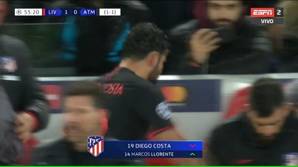 Liverpool vs. Atlético de Madrid - Octavos de final de la Champions League