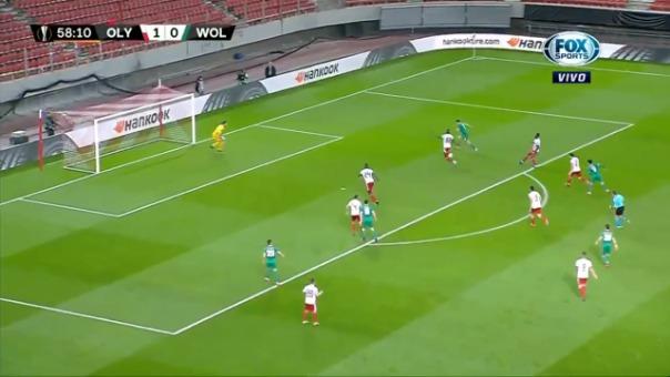 Esta fue la valerosa acción de José Sá en la Europa League.