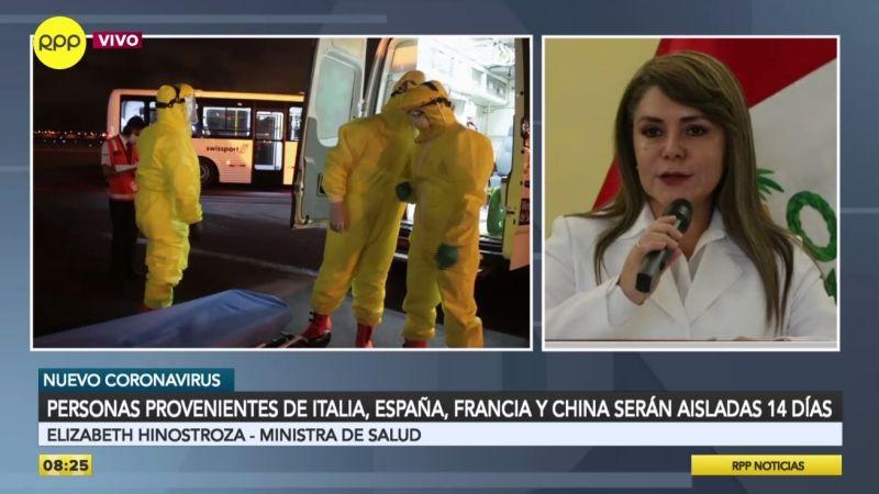 Elizabeth Hinostroza estuvo esta mañana en Ampliación de Noticias.