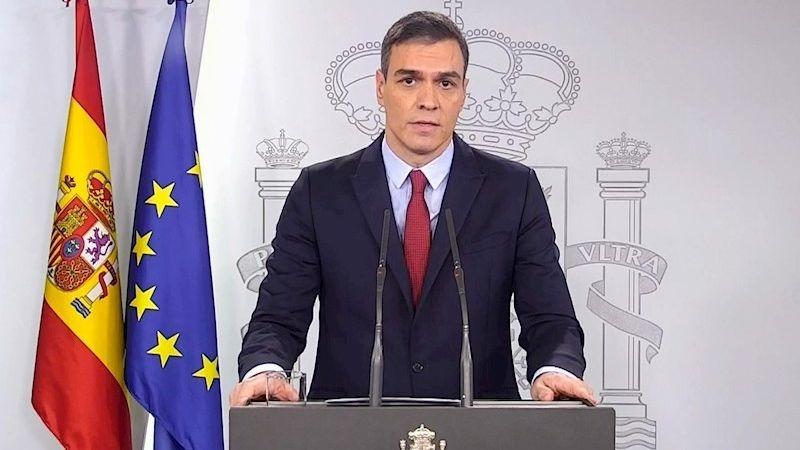 El presidente del Gobierno, Pedro Sánchez, informó que mañana se declarará el estado de alarma en el país.