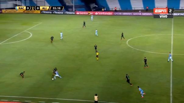 Así fue el gol de Nicolás Reniero.