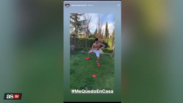 Marco Asensio acelera su recuperación para volver a jugar con el Real Madrid